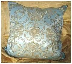 Ottoman Pillow Ottoman Pillow Cushion Antique Ottoman Metallic Thread And Silk