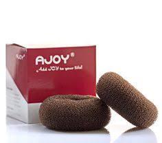 chignon maker ajoy hair bun maker women rings donut buns doughnut shaper chignon
