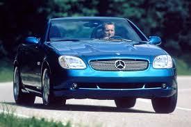 Slk230 Interior 1998 04 Mercedes Benz Slk Consumer Guide Auto