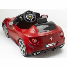 ferrari sports car ferrari ff 6v ride on children u0027s sports car auto kids