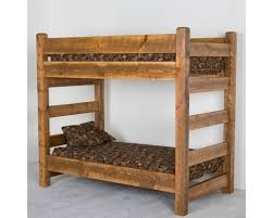 Barnwood Bunk Beds Viking Industries Barnwood Bunk Bed Santa Fe Ranch