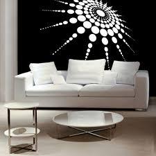 3d Bedroom Wall Paintings Medallion 3d 3 Dimensional Polka Dots Retro Decor Retro
