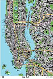 map of new york city map of new york city by sparks