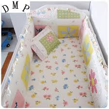Crib Bedding Sets For Cheap Promotion 6pcs Crib Bumper Set Cheap Baby Crib Cot Bedding Sets