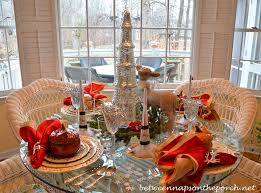 New Year S Day Decoration by New Year U0027s Table Setting Tablescape With Lenox Winter Greetings China