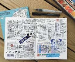 travel journals images Travel art tools abbey sy jpg