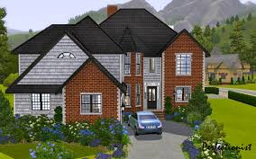 mod the sims u00275 bedroom european style house u0027 ts3 remake no cc
