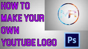 how to make your own logo using photoshop cs6 easy tutorial