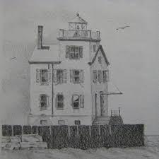 lighthouse lorain ohio lake erie water nautical seascape