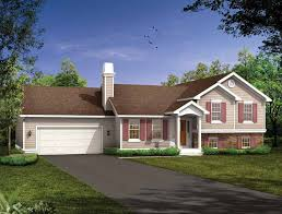 bi level house plans with attached garage split level house plans at eplans house design plans