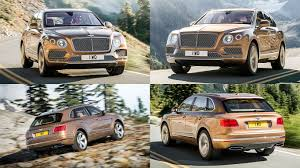 suv bentley 2016 new 2016 bentley bentayga suv revealed motoring research