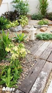 the 25 best river rock gardens ideas on pinterest garden ideas