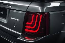 custom car tail lights the original range rover sport is reborn with a revolutionary custom