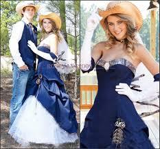 wedding dresses for of honor cowboy blue denim camo wedding dresses of honor country
