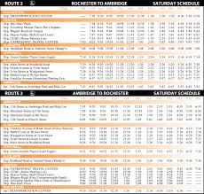 bus schedule on thanksgiving route 2 bcta