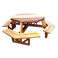 Octagon Patio Table Plans Octagon Wood Picnic Table Image Of Wood Octagon Picnic Table
