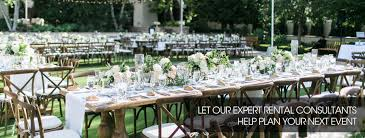 table chairs rental signature party rentals