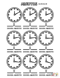 minutes 12 10 12 18 coloring page free printable coloring pages