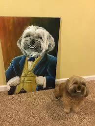 Know Your Meme Dog - dog painting my faggot dog know your meme