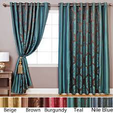 these luxurious 84 inch wide curtains turn any space into an oasis
