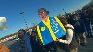 walmart black friday strike wal mart protests draw hundreds nov 23 2012