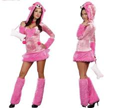 Monster Halloween Costumes 2014 Animal Costumes Women Female Costumes Pink Dog