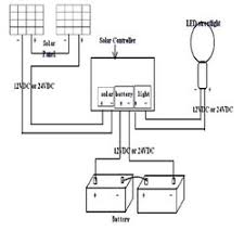 circuit diagram of solar power street light circuit and