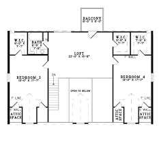 log style house plan 4 beds 3 00 baths 2741 sq ft plan 17 503