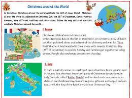 traditions around the world worksheet elt resources