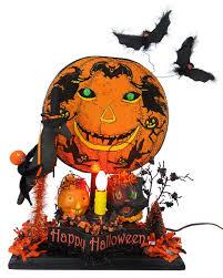 Halloween Flags Outdoors Lighted Pumpkins U0026 Outdoor Decor Traditions