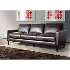 Omega Full Leather Sofa By Diamond Sofa - Full leather sofas
