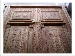 carved wooden door designs carved wooden front door design