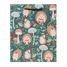 hedgehog wrapping paper hedgehog christmas bags and wrap collection boxandwrap