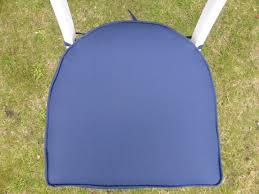garden furniture cushions round back chair seat pad cushion