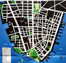 downtown manhattan map large detailed tourist map of lower manhattan lower manhattan
