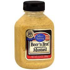 koops mustard silver horseradish mustard 9 5 oz pack of 9 walmart