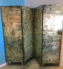 mirror room screen room divider folding mirror screen loiret