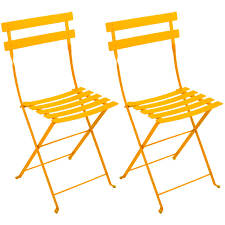 Yellow Bistro Chairs Fermob Bistro Chairs Lunnic Designs