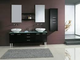 High End Bathroom Vanities by Corner Vanities Bathroom 12 Custom Double Sink Vanity Walnut
