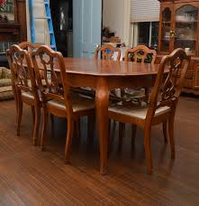 bassett furniture french provincial styletable and chairs ebth
