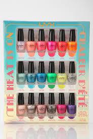 nyx nail polish set nails pinterest nail polish sets mani