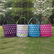 wholesale easter buckets wholesale polka dots easter basket polka dot easter tote
