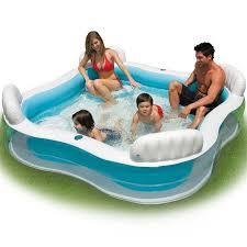 siege de piscine gonflable intex piscine gonflable avec 4 sièges pour enfant et famille 2