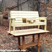 free woodworking table plans build project convertible picnic