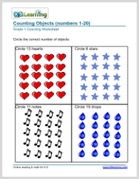 math counting worksheet 1st grade number charts and counting worksheets k5 learning