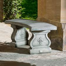 Fleur De Lis Patio Furniture Cast Stone Outdoor Patio Furniture