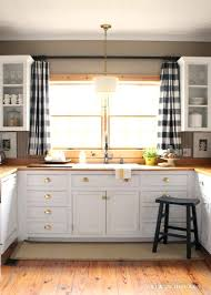 Ideas For Kitchen Curtains Kitchen Sink Curtains Bloomingcactus Me