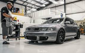audi a4 b5 limo on bentley wheels low audi vorsprung durch