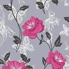 black floral wallpaper amazon co uk