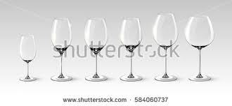 Types Of Wine Glasses And Their Uses About Glass Red Wine Glasses Isolated Stock Images Royalty Free Images